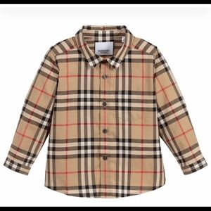 100% authentic Burberry shirt for 18m old boys